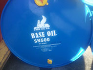 Base Oil in New Steel Drums